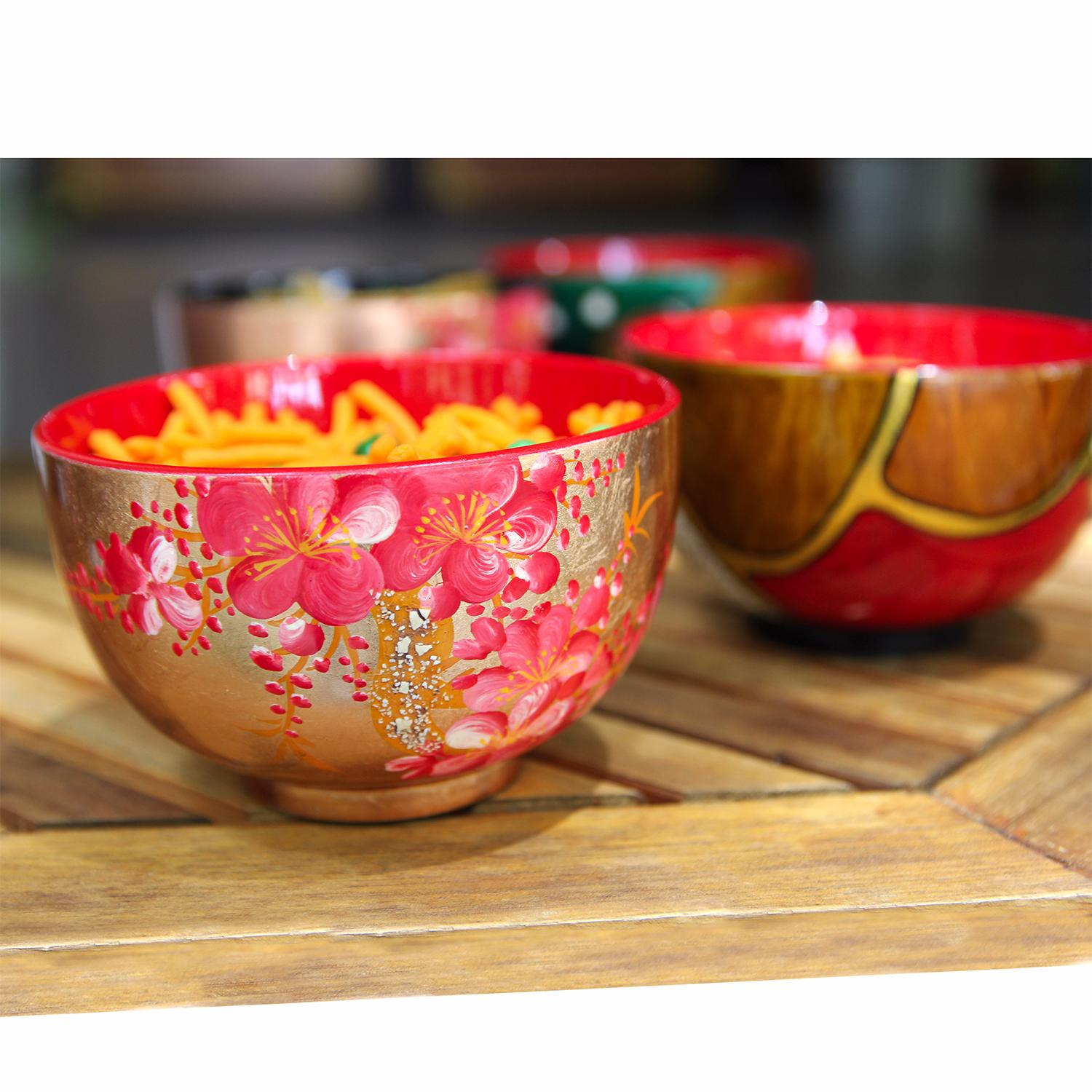 VIETNAM TOP HOT SALE HIGH QUALITY LACQUER BOWLS BEST PRICE FROM FACTORY WOODEN BOWL_DONG PHUONG + 84 979 153366