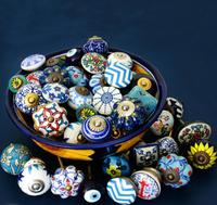 Assorted mixed stock drawer cabinet ceramic knobs Handle & pull [CK 203]