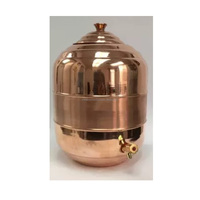 Copper Water Dispenser Pot