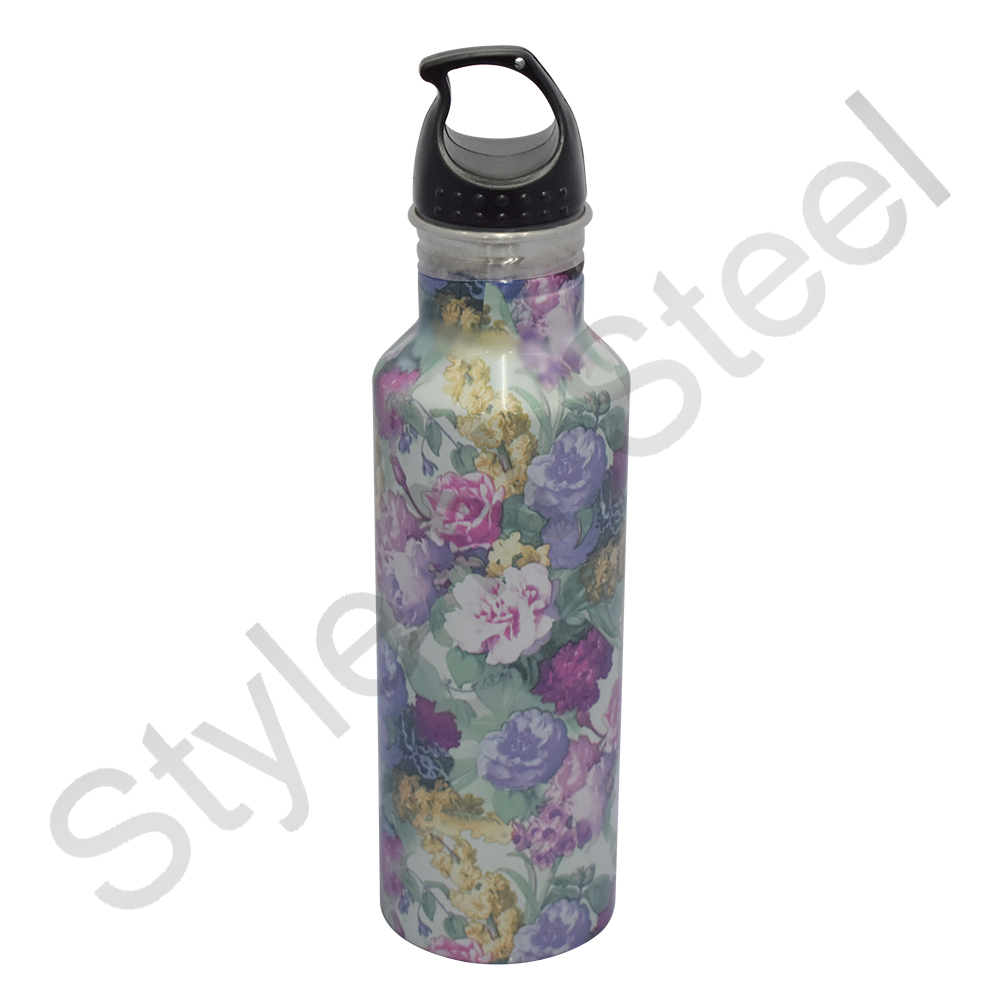 Stainless Steel Aristo Water Bottle Printed Design