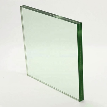 Construction building glass 3mm 4mm ultra thin clear tempered glass