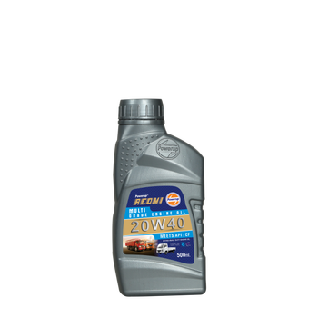 500ml. Redmi 20W40 petrol engine oil car in use petrol engine oil car engine oil