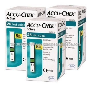 Hot Sales ACCU CHEK Active Glucose Monitor with Test Strips