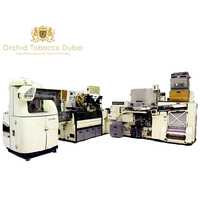 Dubai factory refurbished Cigarette filling, packing, making machinery with Video