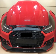 Completo di Front-End RS Body kit per <span class=keywords><strong>Audi</strong></span> <span class=keywords><strong>A3</strong></span> A4 B9 A5 A6 A7 C8 UN D6 S3 S4 S5 s6 S7 S8 Q3 Q5 SQ5 RS3 RS4 RS5 RS6 RS7 R8 TT S Linea