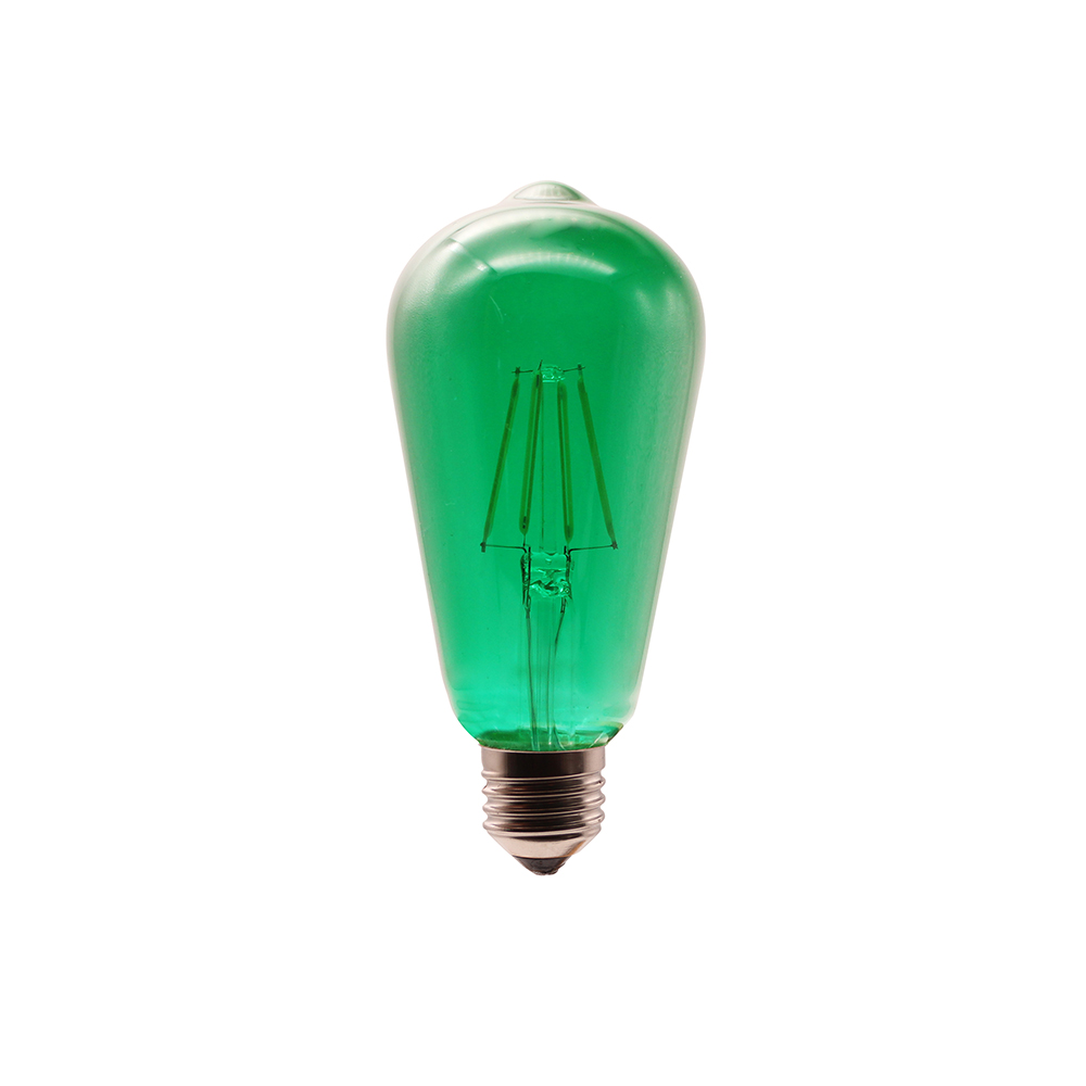 new fashion 1W 2W  4W 6W 8W E27 E26 B22 ST64 led old style filament light bulbs restaurant
