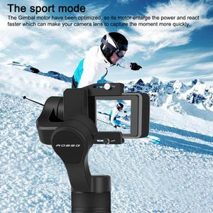 2019 Hot Factory Handheld Action Camera Stabilizer 3 axis Brushless Handheld Gimbal for Smartphones