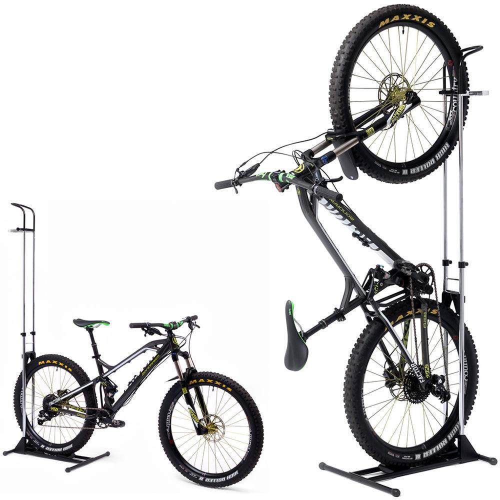 Japan wholesale indoor auto lock floor mountain folding bike stand