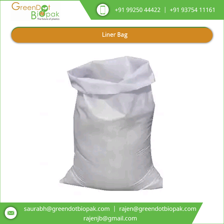 Good Strength Leak Resistant Raw Material Packaging Compostable Liner Bag