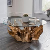Teak Root Coffee Table , round