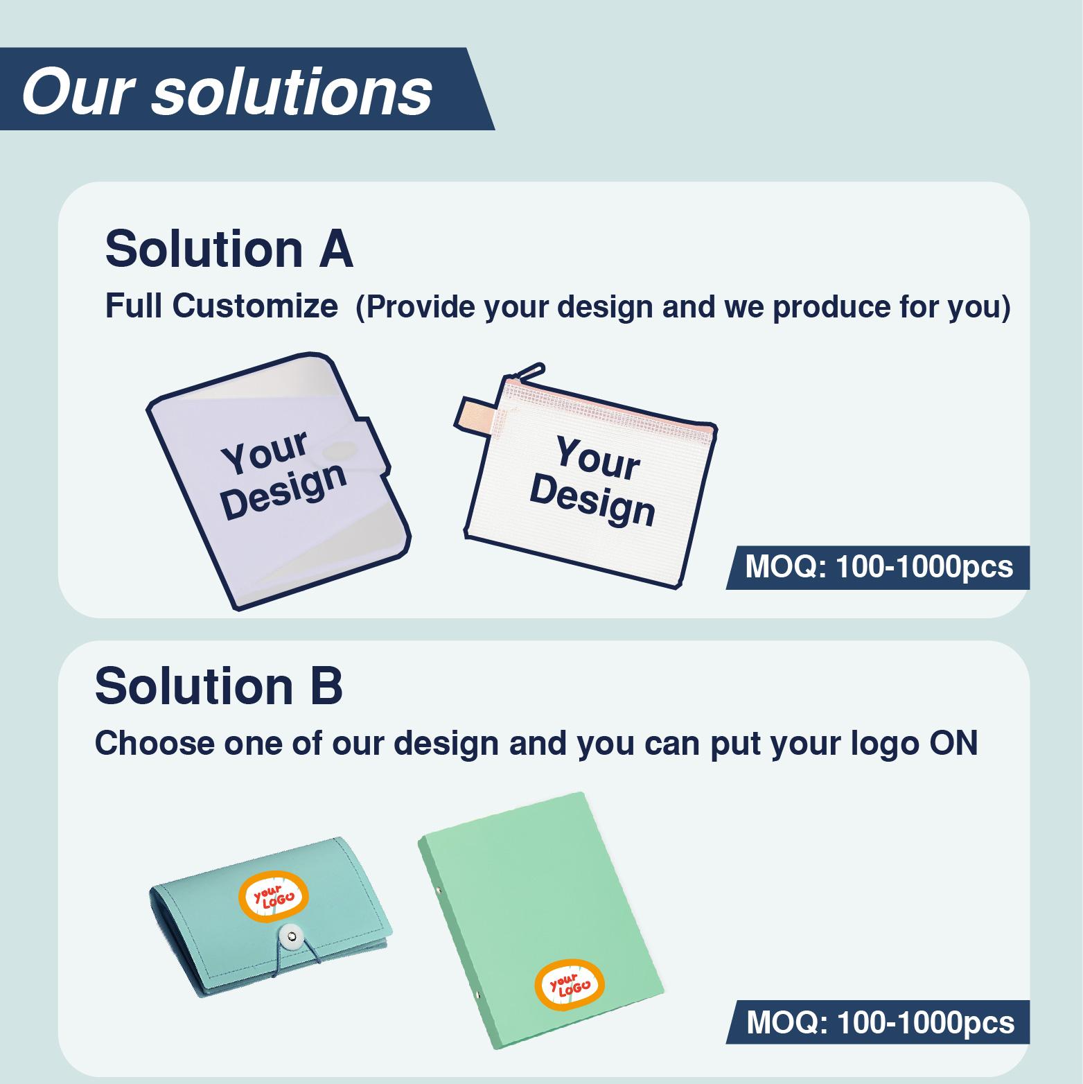 Plastic Netje Met Custom Logo In Kantoorbenodigdheden & Document Bag Pvc Pouch Met Rits Bestandsmap Zak