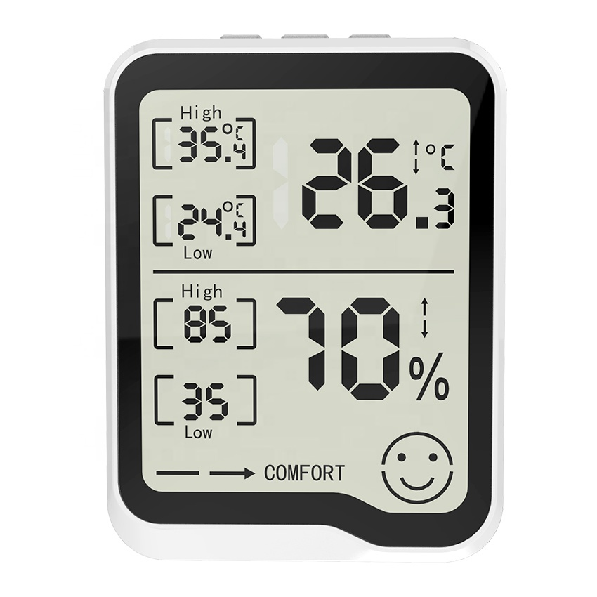 Indicator Digital Humidity Meter Hygrometer Indoor Room Thermometer With Humidity Monitor