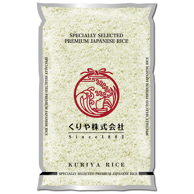 Japan high quality 5kg delicious white sushi raw healthy rice