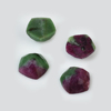 hexagon shape 12 mm rose cut natural loose ruby zoisite