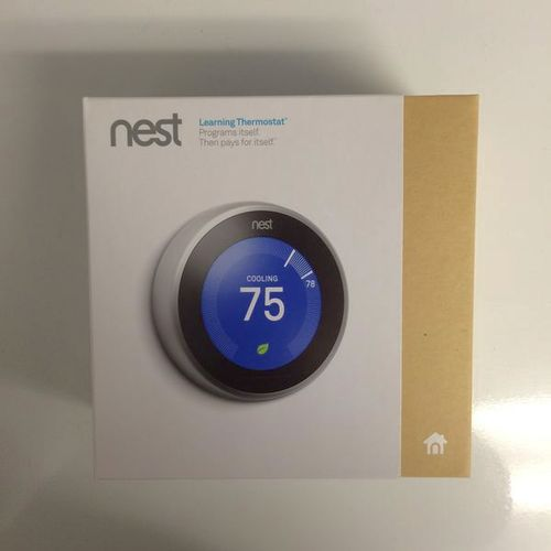 New SEALED-Nest Lernen Thermostat T3007ES 3rd Generation