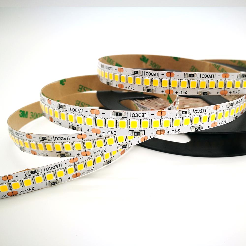 Led Strip Energy Saver 2835 240 led - 5 meters - IP 20 - 4000 K neutral white - 12 w/mt
