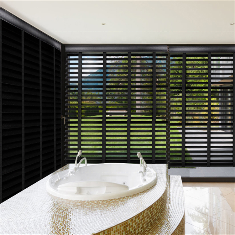 YL 2019 Popular Style Black Color Venetian Blinds For Windows