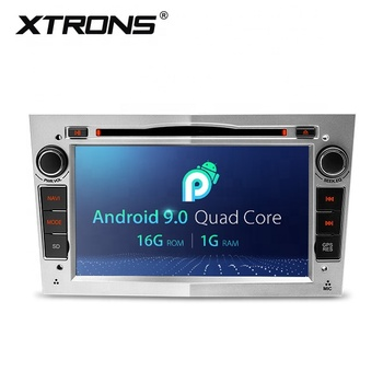 XTRONS 7 inch 2 din touch screen android 9.0 car dvd player audio radio system for Opel astra h vivaro with GPS