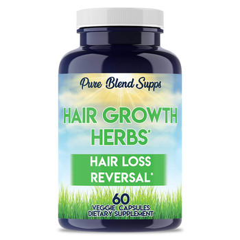 Wholesale natural organic supplements vitamins - Pure Blend Supps Hair Growth Herbs for Hair Loss Reversal
