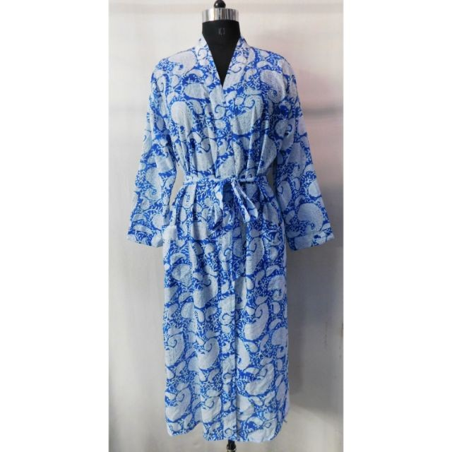 Wholesale Indian Cotton Block Paisley Printed Handmade Clothing Gown Tunic Robe Maxi Dress Sleepwear Women S Nighty Buy Cotton Kimono Robe Indian Cotton Nightgown Women S Cotton Sleepwear Product On Alibaba Com