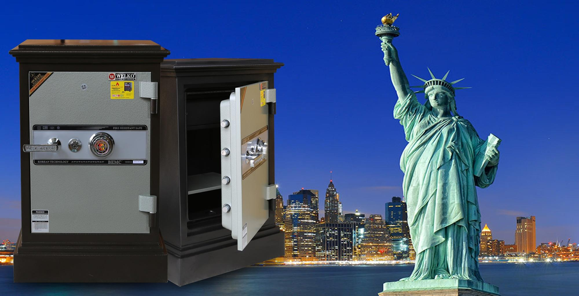 DC74 KC Best Selling Premium Fire Resistant Home Safes