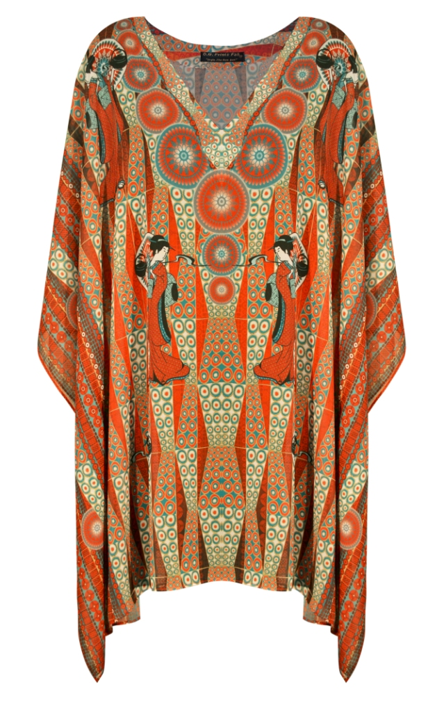 indian Digitally Printed Georgette Kaftan DRESS for women for summer and casual wear with best material in latest design