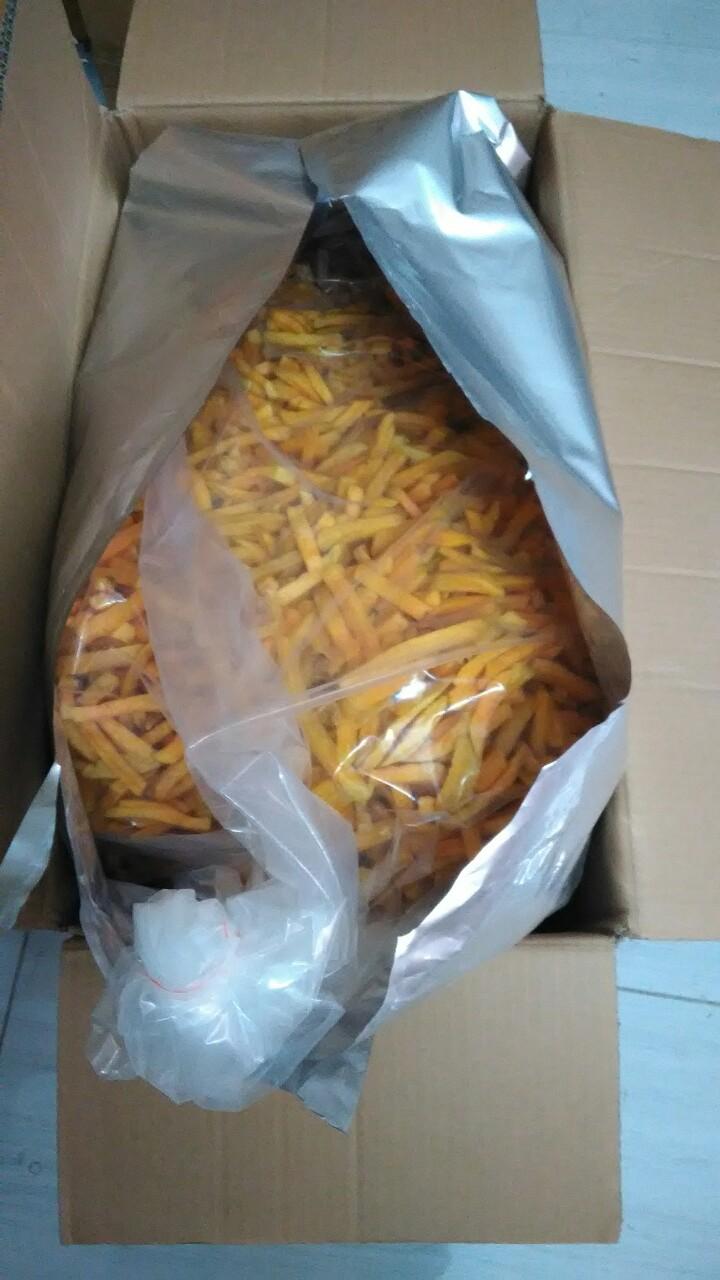Dried yellow sweet potato