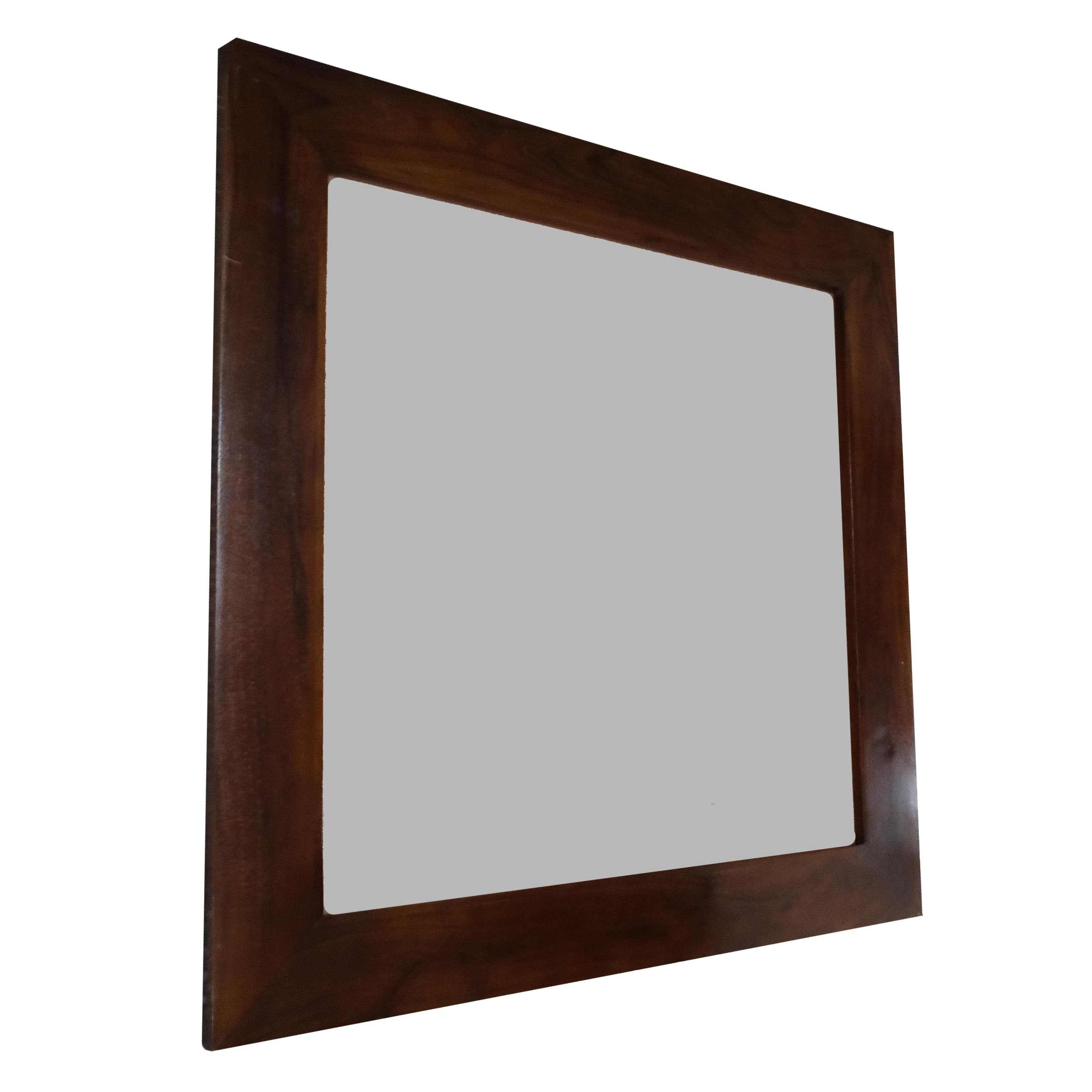 Wooden Large Wall Mirror Square Acacia Wood 90x90 Cms Buy Wooden Mirror Shelf With Hooks Acacia Shelves Vintage Natural Rectangle Wall Mount Floating Home Decor Cheap Strong Elegant Product On Alibaba Com