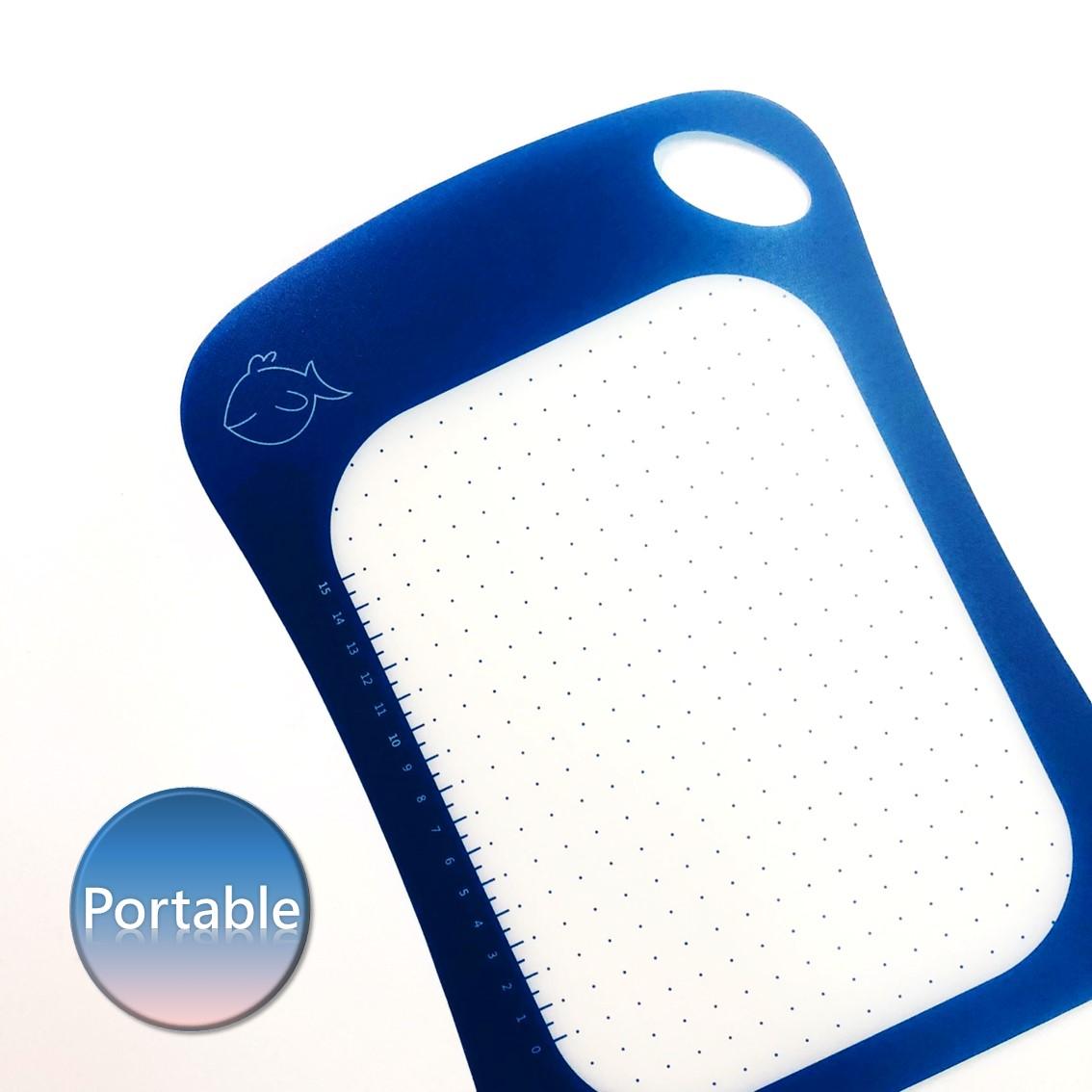 유연한 라운드 플라스틱 커팅 보드 도마