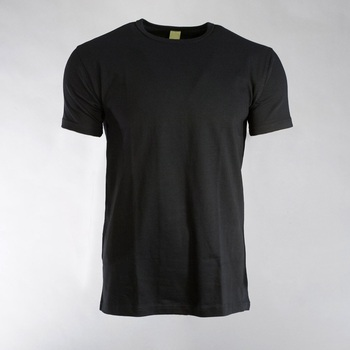Factory Wholesale Man polyester T-Shirt/2020 Cheap Promotional Basic Plain Stock o neck men T shirts
