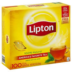 Lipton yellow label tea bags 100's Sri Lanka Origin