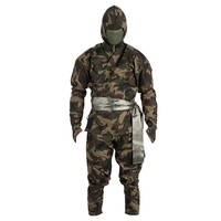 Factory Professional Camo Printed kung Fu Ninja Uniform
