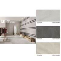 600x1200 outdoor sport court granite slate porcelain tiles for floor and wall
