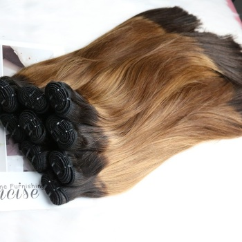 Hot Products Hair Colored Chocolate Brown And Honey Brown Remy Hair Vietnamese Hair