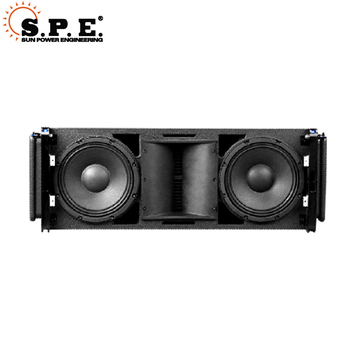 Dual 10 inch passive sound system Line Array speaker DJ sound box in professional audio loudspeaker