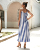 2020 new fashion women casual dress maxi Striped skirt 2020 summer ladies dresses casual