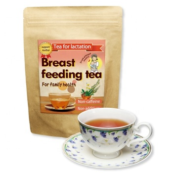 Herbal rooibos lactation tea for baby milk & mother & pregnant woman & breast milk health product detox soft drink made in japan