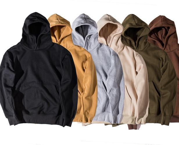 Fashion Wholesale Blank Mens Streetwear Hoodie sweatshirts