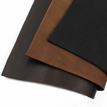 Cow Leather Material DIY Hand Craft Vintage Oil Tanned Cowhide First Layer 1.8-2.2mm