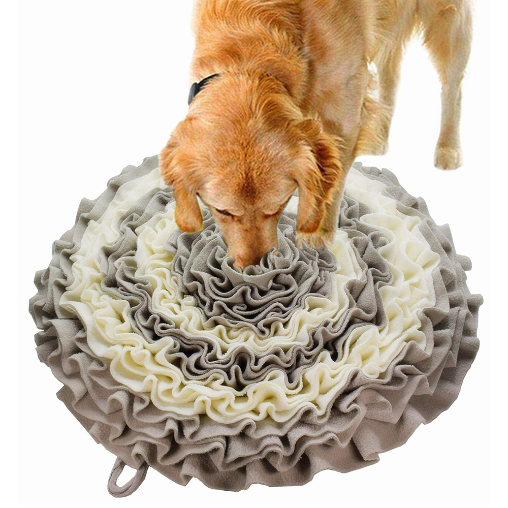 ZMAKER Pet Snuffle Mat For Dogs Washable dog Nose Training Lick Pad Feeding Mat For Cats And Dogs