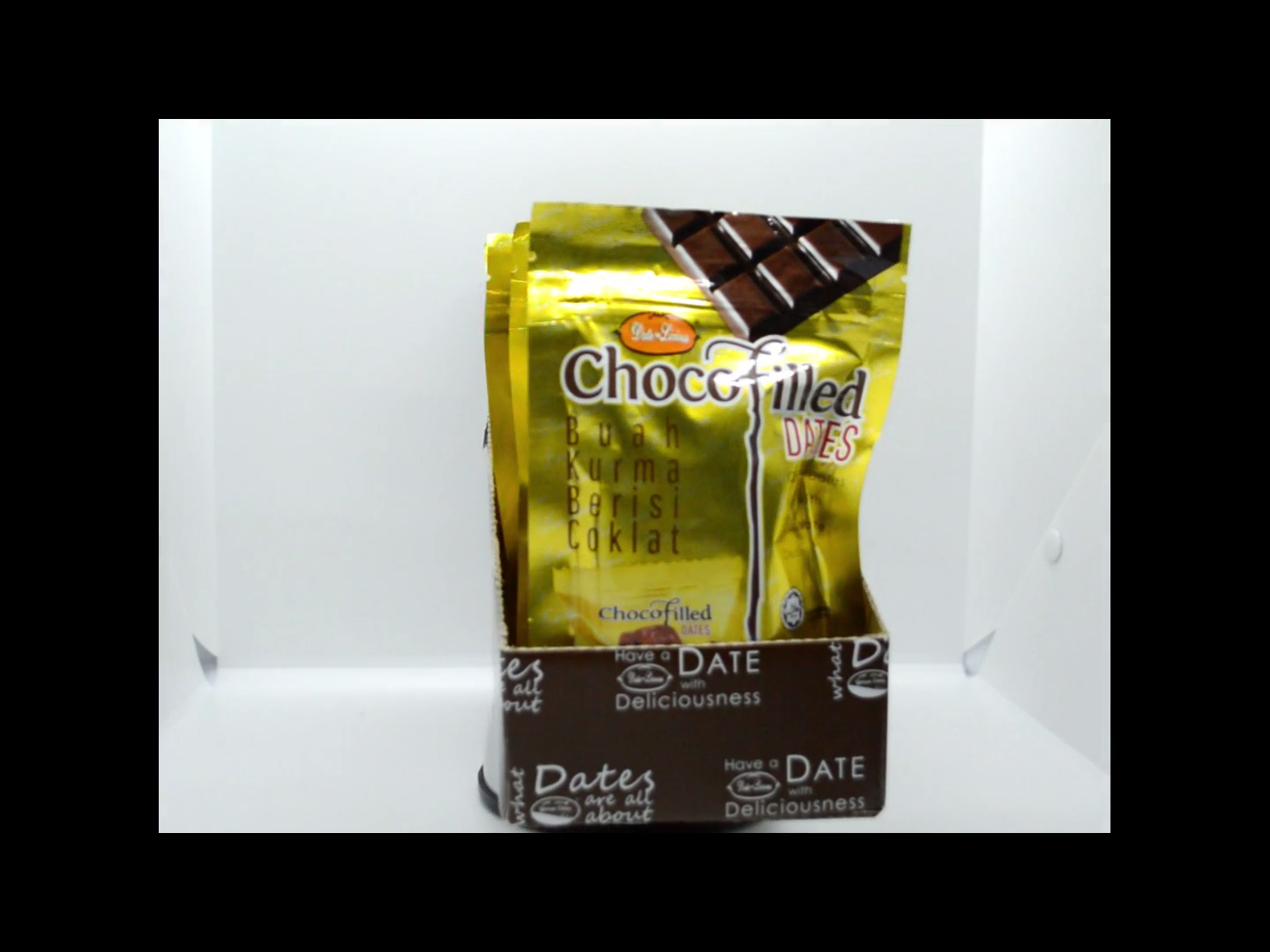 Malaysia Dry Fruits Date Palm with Chocolate Center