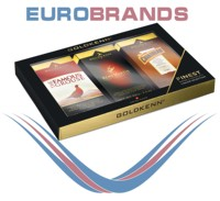 "Goldkenn Gift Pack With a Trio of Goldkenn""s Chocolate Liquor Bars, 300g"