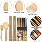 New Design Japanese Bamboo Sushi Making Kit Home Office Party Homemade Beginner Sushi Maker Tool Set