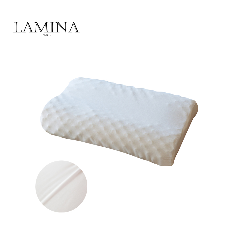 Factory supply anti mite sleeping latex pillow