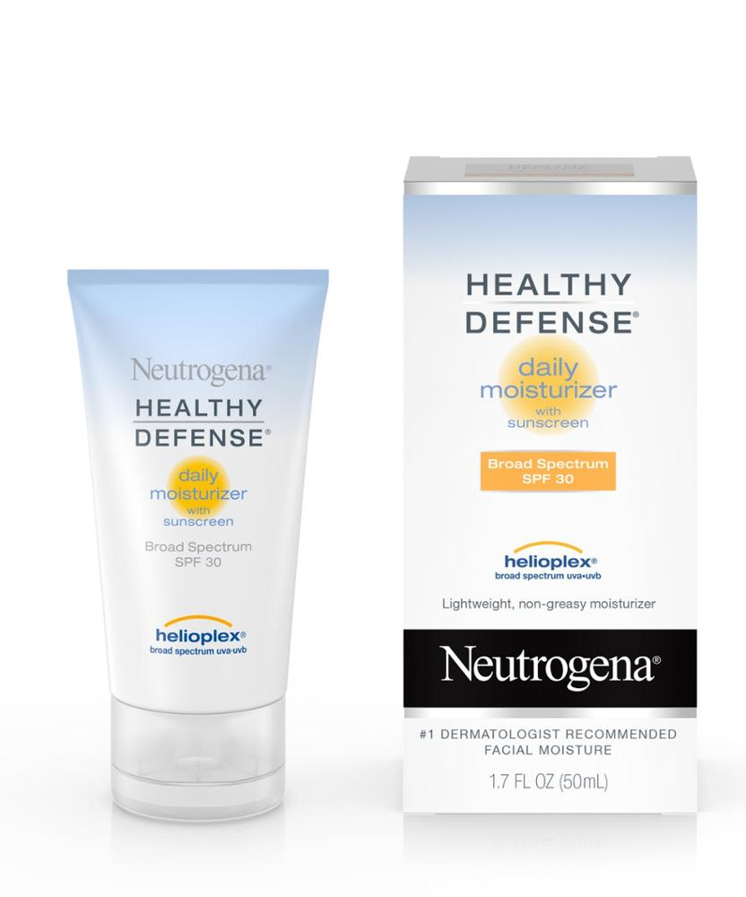 Neutrogena Healthy Defense Daily Moisturizer with Broad Spectrum SPF 50 <strong>Sunscreen</strong> Bulk Packaging Case Pack of 2