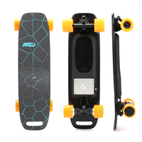 USA stock New Fish board (Dual motor) 350W*2 36V 25AH 10S2P electric skateboard