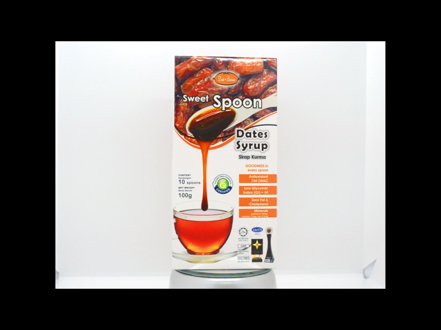 Convenient Package Sugar-Free Halal Date-Licious Sweet Diabetes Syrup In Spoon Packing