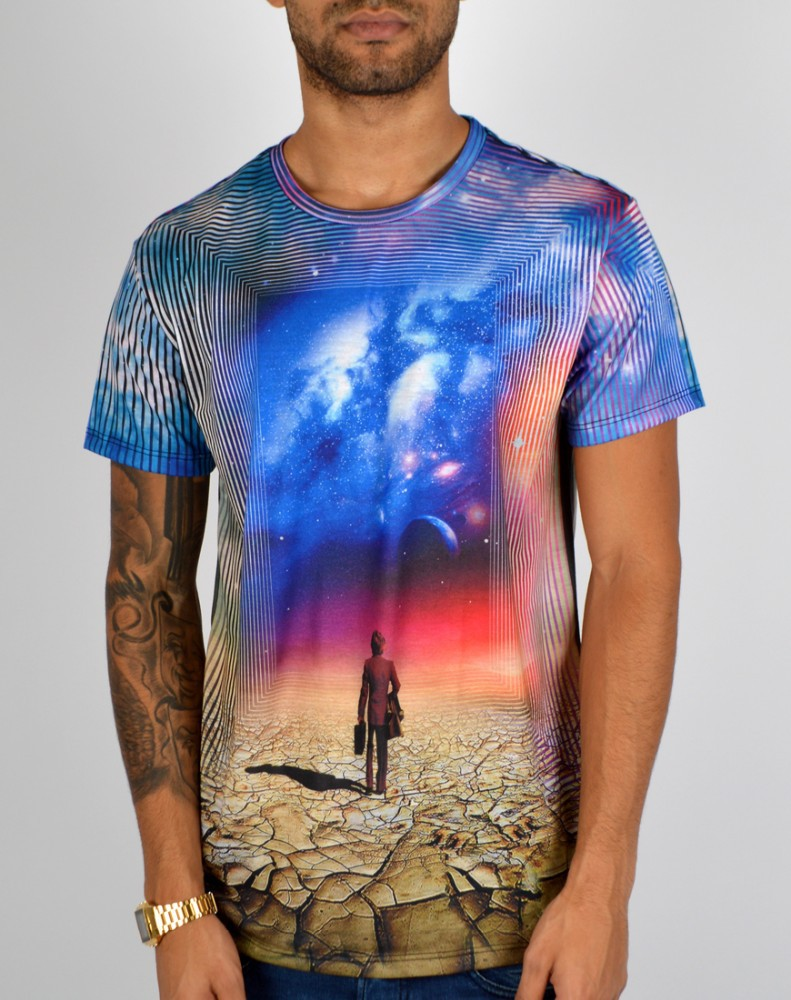 Yeni sublime t-shirt/boya süblime t-shirt baskı/all over süblimasyon baskı t-shirt