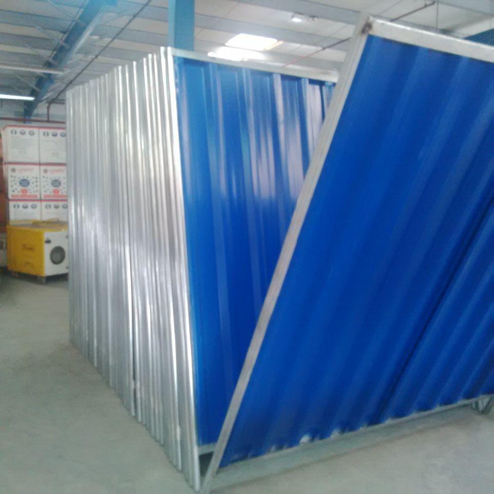 Single Skin Corrugated Sheet Panels For Fencing Buy
