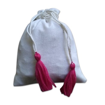 Indian small cotton pouch drawstring jewelry bags wholesale
